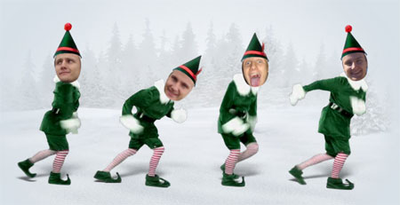 Elf Yourself, le retour